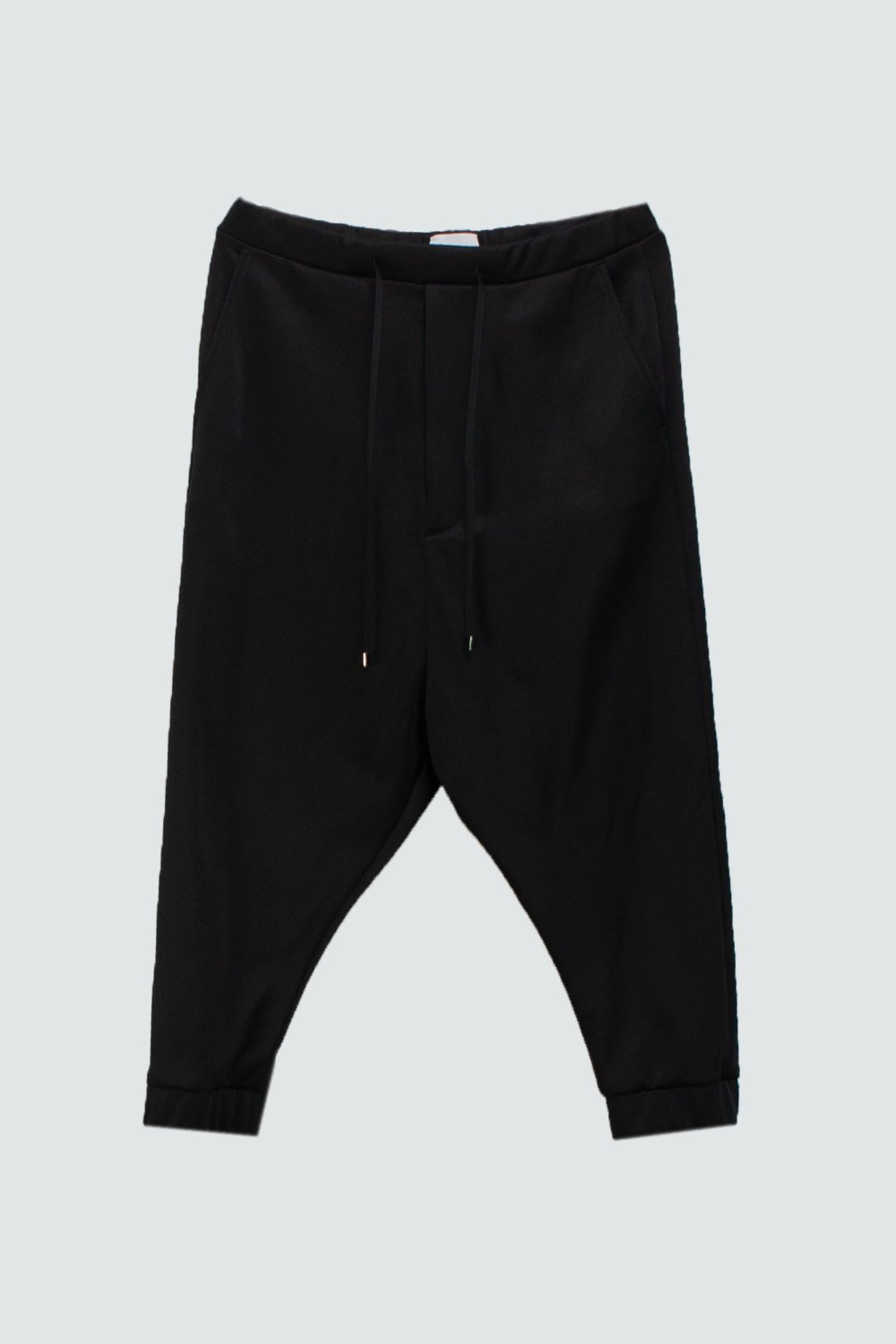 <img class='new_mark_img1' src='https://img.shop-pro.jp/img/new/icons8.gif' style='border:none;display:inline;margin:0px;padding:0px;width:auto;' />SWEAT  SARROUEL PANTS BLACK