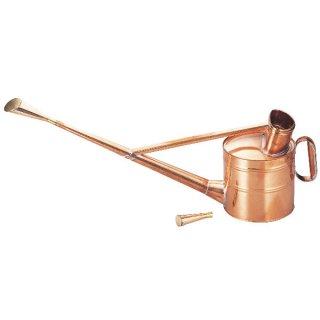 銅製英国式ジョーロ6号/Copper watering can 5.0L