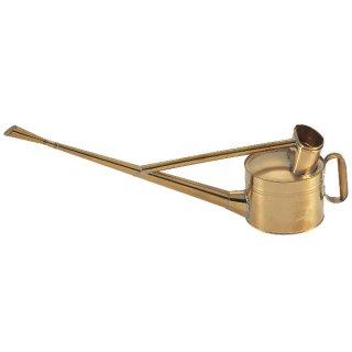 真鍮製英国式ジョーロ4号/Brass watering can 3.5L