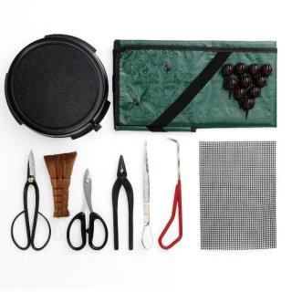 盆栽入門お手入れ10点セット/Bonsai tool set for biginners 10pcs.【送料無料】