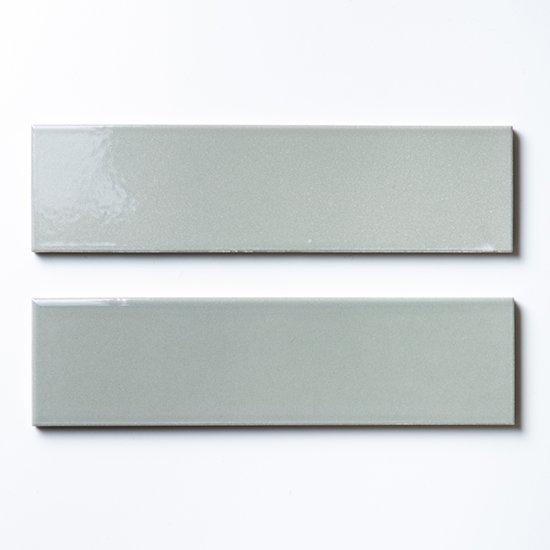 オリジナルタイル通販のタイルメイド 欧米風ふんわりタイル グレー 二丁掛(ケース)
