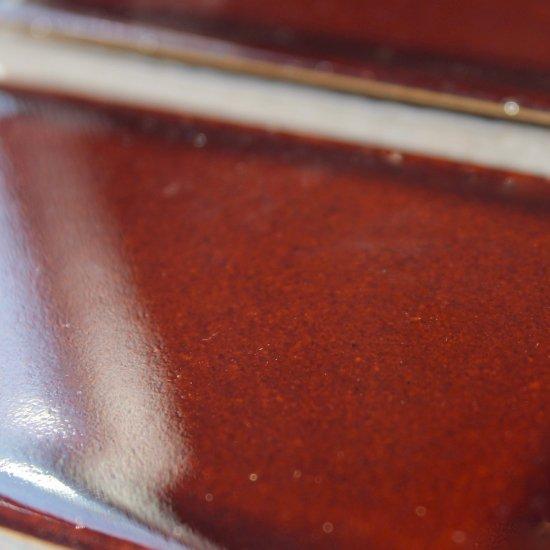 オリジナルタイル通販のタイルメイド レトロタイル 飴茶 小口(ケース)