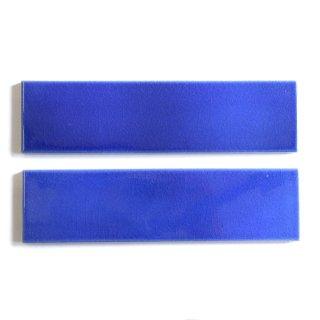 光と溶け合う クラックタイル 青 二丁掛(ケース)|オリジナルタイル通販のタイルメイド