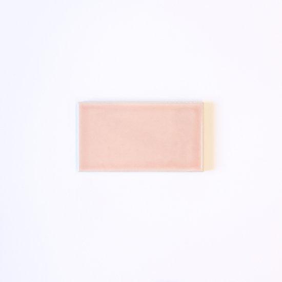 オリジナルタイル通販のタイルメイド 欧米風ふんわりタイル ピンク 小口(ケース)