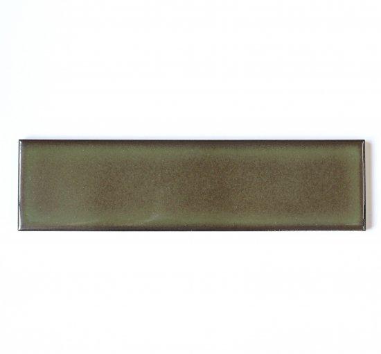 オリジナルタイル通販のタイルメイド 焼き物の風合いむらタイル 苔むらタイル 二丁掛(ケース)