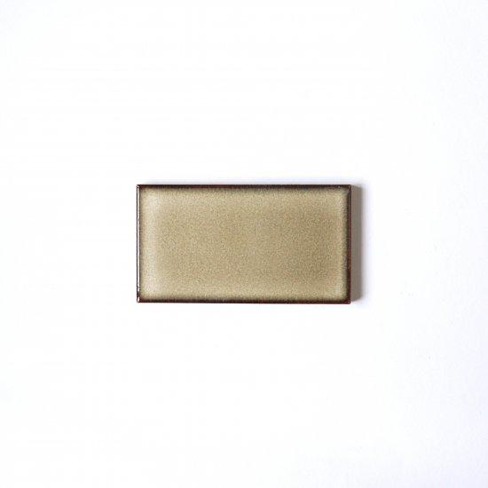 オリジナルタイル通販のタイルメイド 焼き物の風合いむらタイル 薄茶むらタイル 小口(ケース)