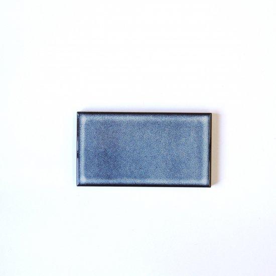 オリジナルタイル通販のタイルメイド 焼き物の風合いむらタイル 紫むらタイル 小口(ケース)