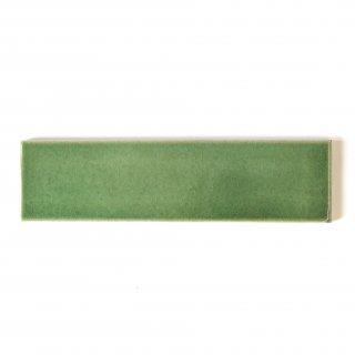 【サンプル請求】自然の輝きをそのままにネイチャータイル 森林(もり)カラータイル【緑】 二丁掛 オリジナルタイル通販のタイルメイド