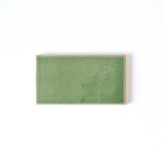 【サンプル請求】自然の輝きをそのままにネイチャータイル 森林(もり)カラータイル【緑】 小口 オリジナルタイル通販のタイルメイド