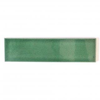 【サンプル請求】自然の輝きをそのままにネイチャータイル 森林(もり)カラータイル【濃緑】 二丁掛 オリジナルタイル通販のタイルメイド