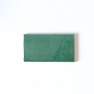 【サンプル請求】自然の輝きをそのままにネイチャータイル 森林(もり)カラータイル【青緑】 小口 オリジナルタイル通販のタイルメイド
