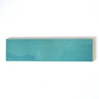 【サンプル請求】自然の輝きをそのままにネイチャータイル 森林(もり)カラータイル【青】 二丁掛|オリジナルタイル通販のタイルメイド