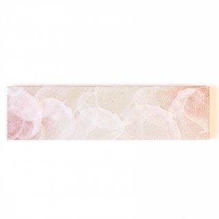 【サンプル請求】エッジが効いた個性派タイル 桜志野・ピンク 二丁掛|オリジナルタイル通販のタイルメイド
