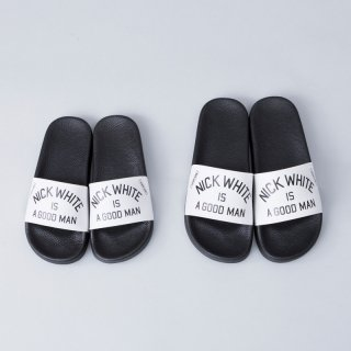 "Original Shower Sandals<br> ""NICK WHITE IS A GOOD MAN"""