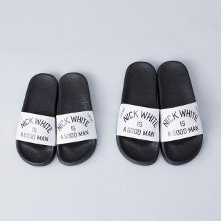 "Original Shower Sandals<br> ""NICK WHITE IS A GOOD MAN"""