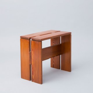 Les Arcs Wood Stool