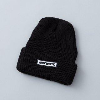 """NICK WHITE"" Original  Beanie 2 (Black)"