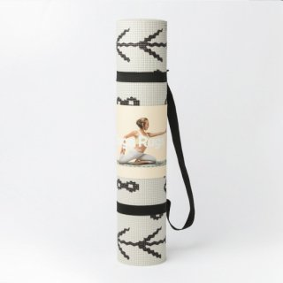 """Yoga Mat """"Berber""""<img class='new_mark_img2' src='https://img.shop-pro.jp/img/new/icons29.gif' style='border:none;display:inline;margin:0px;padding:0px;width:auto;' />"""