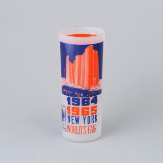 "1964/1965 New York World's Fair Souvenir Glass <br>""Hall of Science"""