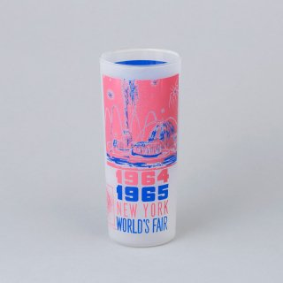 "1964/1965 New York World's Fair Souvenir Glass <br>""Pool of Industry"""