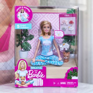 Breathe with Me Barbie Doll