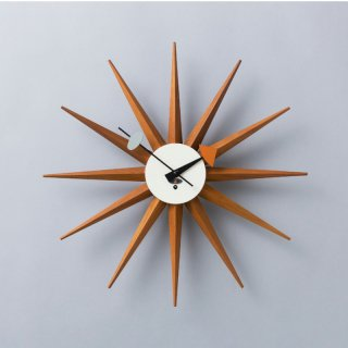 Sunburst Clock Model No.2202 (Wind-up)