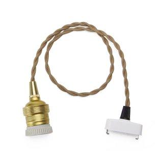 """Brown Cord """"60cm""""(E26)"""