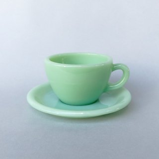 Fire-King Restaurant Ware Extra Heavy Cup & Saucer