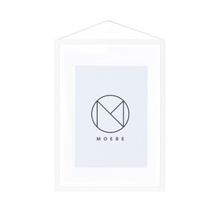 Frame Wood White / A4