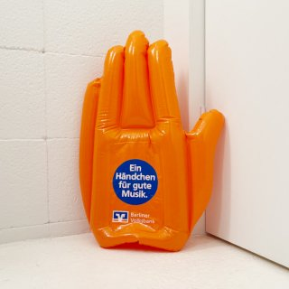 Inflatable Fan-Hand