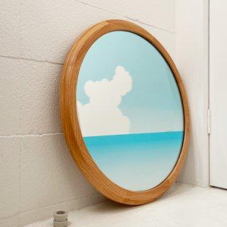 舷窓の鏡(貨物船)