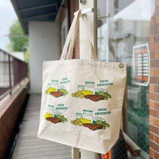 """Original Tote Bag """"FRESH ENCOUNTER"""" (Multi)"""