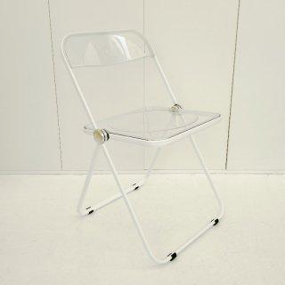 Plia Chair (Clear / White)