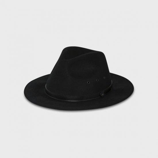 Black Matter Fedora/ BILLY BONES CLUB