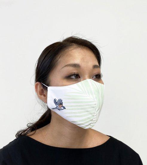 バードデザイン マスク 柄A【送料無料】【画像3】