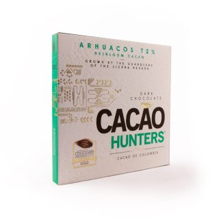 【CACAO HUNTERS】HEIRLOOM ARHUACOS 72%