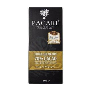 【PACARI】ピウラケマソン 70% チョコレートバー(ホワイトカカオ使用)/Piura Quemazon 70% Chocolate Bar