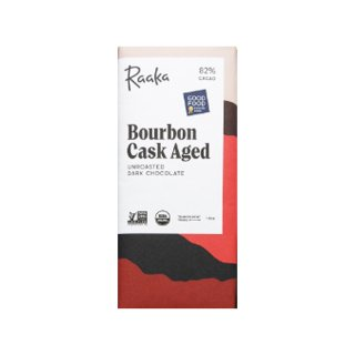 【Raaka】Bourbon cask-aged
