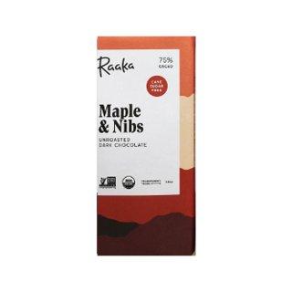 【Raaka】Maple & Nibs