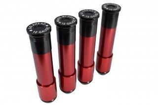 ラグナットキャップ BULLET SHOTGUN SHELL タイプ 径25mm 長さ76mm