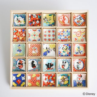 ミッキーマウス&フレンズ はしおきこれくしょん 25種類 木箱セット