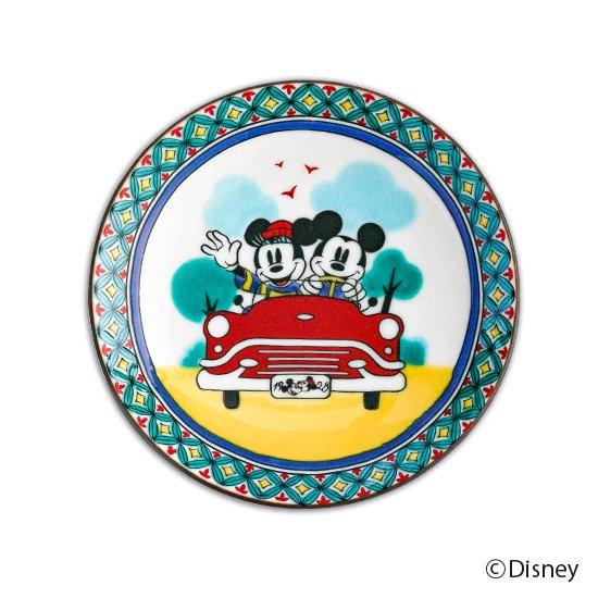 ミッキーマウス小皿 / 七宝図