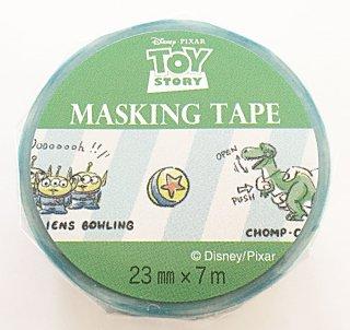 DISNEY ディズニー マスキングテープ トイストーリー 日本製