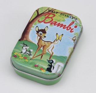 DISNEY ディズニー 缶入りラベルステッカー バンビ