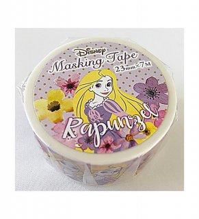 DISNEY ディズニー プリンセス マスキングテープ フラワー/ラプンツェル