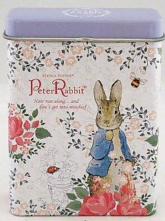 PETER RABBIT ピーターラビット 缶ケース入りメモ 80枚入り フラワーガーデン
