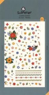 スアテリエ ミニステッカー 小さな花のアイコン