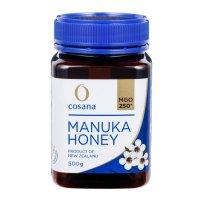 マヌカハニー「コサナマヌカハニー」MGO250-500g 1本 ニュージーランドにのみ自生するフトモモ科の低木のマヌカの小さな花から採られたハチミツです。