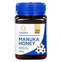 マヌカハニー [コサナマヌカハニー MGO550-500g ]3本 「癒しの木」マヌカハチミツは、ほかのハチミツには無い独特の香りとコクそして群を抜いて多いMGO(食物メチルグリオキサール)が魅力