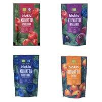 ドライベリー 3種類から選べる スーパーフード オーガニックドライベリー50g ビルベリー リンゴンベリー ミックスベリー。ビタミン フラボノイド ミネラル 抗酸化物質が豊富に含まれています。